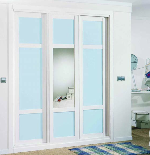 Catalogo de armarios y vestidores puertas molina - Armario blanco lacado ...